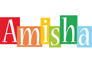 Amisha colors logo