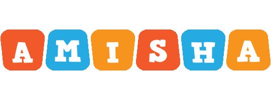 Amisha comics logo