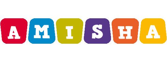 Amisha daycare logo