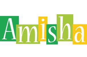 Amisha lemonade logo