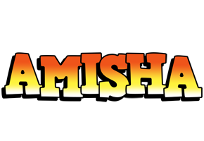 Amisha sunset logo