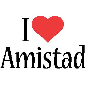 Amistad i-love logo