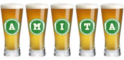 Amita lager logo