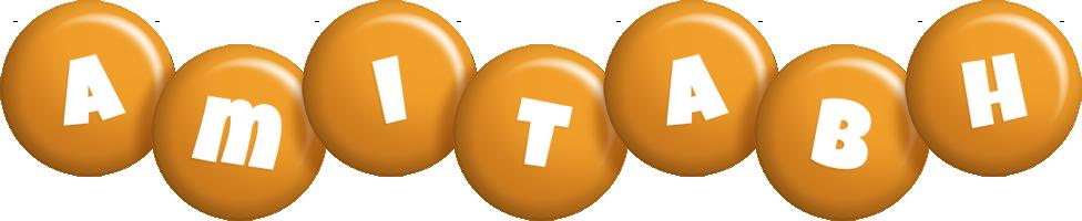 Amitabh candy-orange logo
