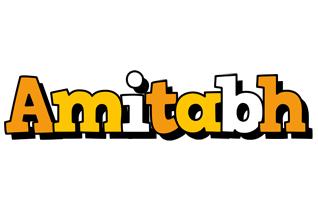 Amitabh cartoon logo