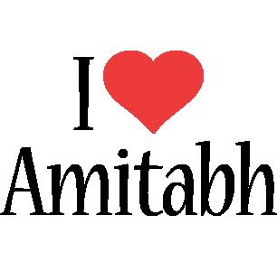 Amitabh i-love logo