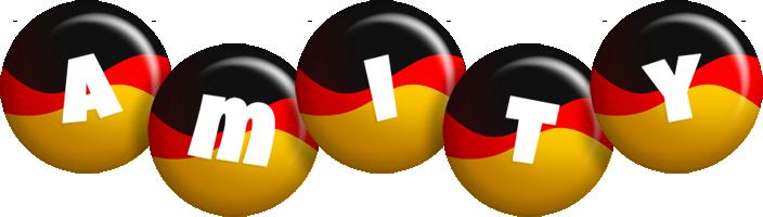 Amity german logo