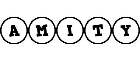 Amity handy logo