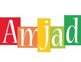Amjad colors logo