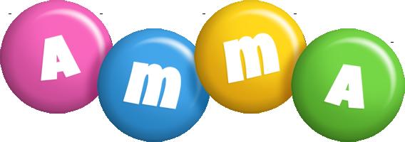 Amma candy logo
