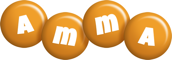 Amma candy-orange logo