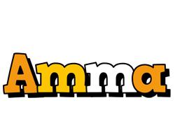Amma cartoon logo