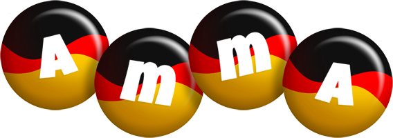 Amma german logo