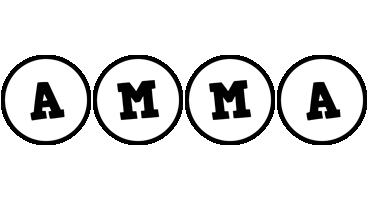 Amma handy logo