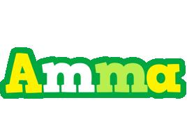 Amma soccer logo