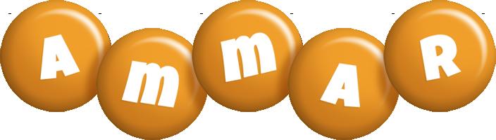 Ammar candy-orange logo