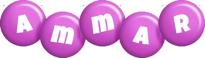 Ammar candy-purple logo