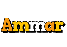 Ammar cartoon logo