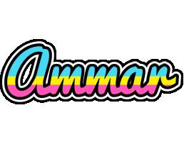 Ammar circus logo