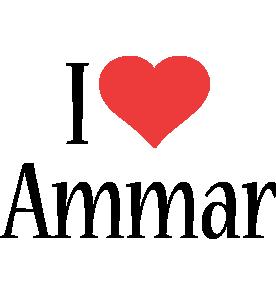 Ammar i-love logo