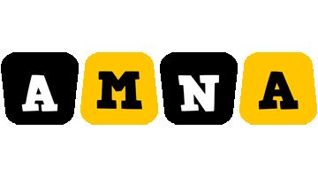 Amna boots logo