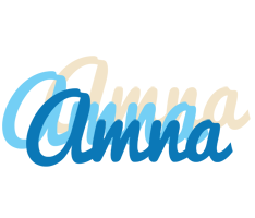 Amna breeze logo