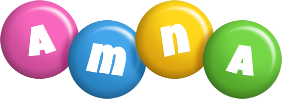 Amna candy logo