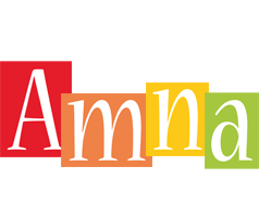 Amna colors logo