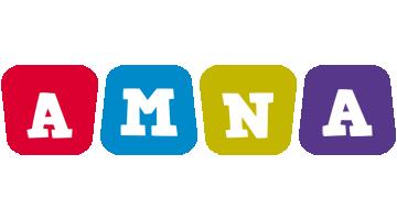 Amna daycare logo