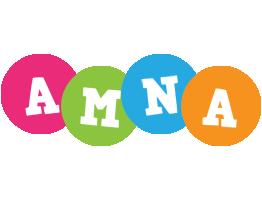 Amna friends logo