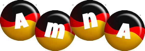 Amna german logo