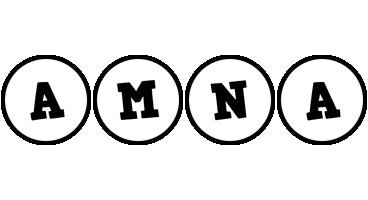Amna handy logo