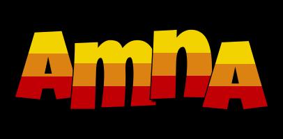 Amna jungle logo