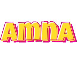 Amna kaboom logo