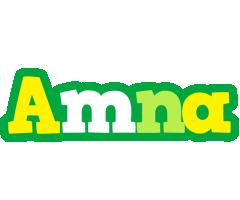 Amna soccer logo