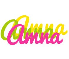 Amna sweets logo