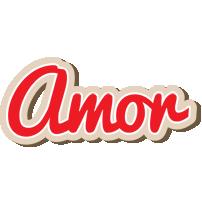Amor chocolate logo