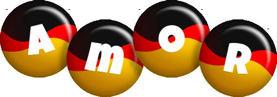 Amor german logo