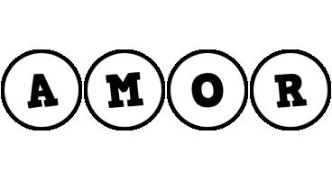 Amor handy logo