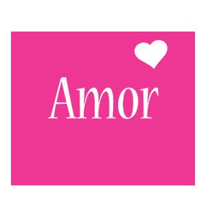 Amor love-heart logo