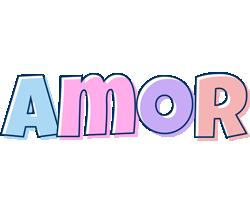 Amor pastel logo