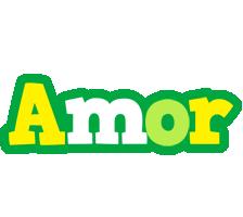 Amor soccer logo
