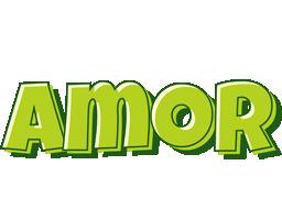 Amor summer logo