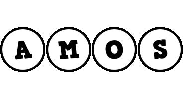 Amos handy logo