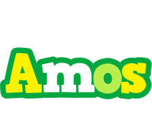 Amos soccer logo