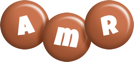 Amr candy-brown logo