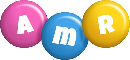 Amr candy logo