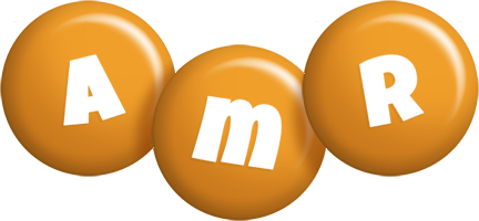 Amr candy-orange logo