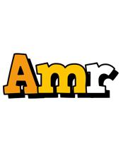 Amr cartoon logo