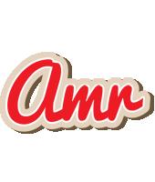 Amr chocolate logo